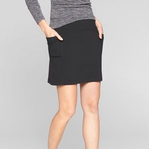 Athleta Excursion Skort, Black, XS